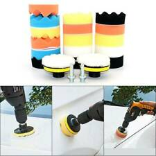 22PCS US Car Foam Drill Polishing Pad Kit High Quality 3Inch Sponge Buffing Pads