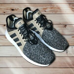 AdidasX_PLR Men's running shoes size 8 - B37930Black White Tan