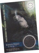 Supernatural Season1: PW-12 Jeannie Epper Shtriga Hood Pieceworks/Costume Card