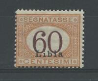 COLONIE LIBIA 1925 TASSE 60C. 2 **