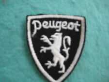 "Vintage Peugeot Auto Of France Patch Sew On  2"" X 2 3/8"""
