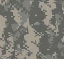 "ACU Army Digital Nylon Cotton Ripstop Fabric Ny/Co 60"" W Camo Camouflage By Yard"