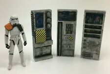 Custom Diorama Parts Lot 3 Computers for 3.75 inch figures Star Wars Gi Joe +
