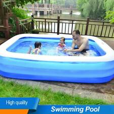 Kids Children Inflatable Swimming Pool Large Family Summer Outdoor Play Adults