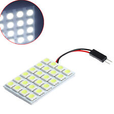 DC 12V 24SMD 5050 T10 BA9S LED Festoon Dome Light Panel Interior Lamp Bulb