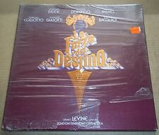 Price/Domingo/Milnes/Levine VERDI La Forza del Destino - RCA ARL4-1864 SEALED