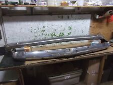 1955 MERCURY FRONT BUMPER FACE BARS TOP BOTTOM OEM 55 F