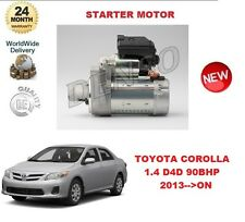 FOR TOYOTA COROLLA 1.4 D4D 99BHP 2013-->ON DENSO ORIGINAL STARTER MOTOR OE