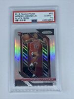 2018 Panini Prizm Wendell Carter Jr Silver PSA 10 #80 Bulls Rookie