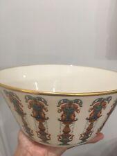 Vintage Lenox Porcelain Bowl Lido Salad Or Serving Bowl With Decorative Medallio