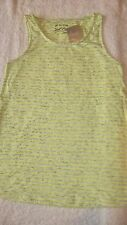 VEST TOP *BNWT* Next 12 years Neon Yellow New Summer Holiday Girls 11-12yrs