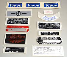 MG MGB GT 65 1967 Aufkleber Sticker und Platte Kit MGK2005 Karosserieblech