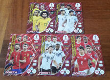 POWER 4 SET COMPLETO RUSSIA 2018 PANINI ADRENALYN XL FIFA WORLD CUP