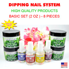 DIP NAILS - COLORS POWDERS LIQUIDS. COMPARE & SAVE! FREE SHIPPING! MADE IN USA.