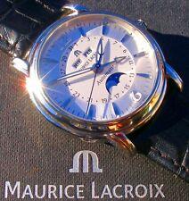 "Maurice Lacroix - MASTERPIECE - Mondphase - Vollkalender - ""PHASE DE LUNE"""