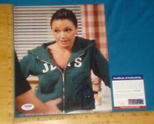 PSA DNA Certified Authentic Leah Remini signed/autographed 8x10 Color Photo #1