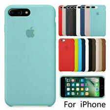 Original Coque Etui Silicone Pour Apple iPhone X XR XS 11 Pro MAX 8 7 6 6+Plus