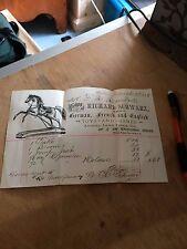 Vintage Ephemera Invoice Massachusetts Boston FAO Schwarz Richard History rare