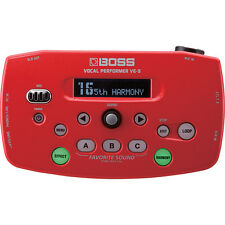 BOSS VE-5 Vocal Performer Mobile Effects Processor and Looper - Red +Picks