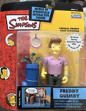 THE SIMPSONS World of Springfield WOS Freddy Quimby SERIES 13 Action Figure NIB