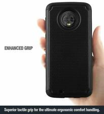 For Motorola Moto G6 (2018) Case, TPU Shockproof Cover w/Drop Protective Black