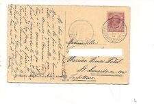 8031 annullo navigazione SERVIZIO POSTALE SUL LADO DI GARDA (1) 1911