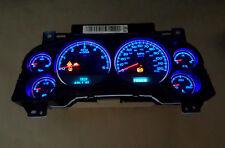 Silverado, Yukon, Sierra, Tahoe Instrument Gauge Cluster Speedometer Blue Leds