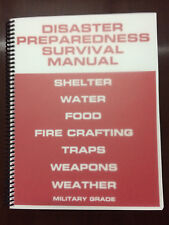 Disaster Preparedness Survival Manual Food Water Shelter Prepper Manual Bugout