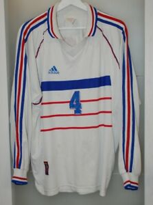 Match worn shirt France national team Euro 2000 Arsenal London Barcelona Petit