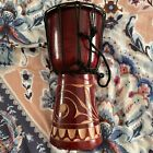 30cm Carved Wooden Djembe Drum picture