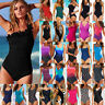 Women's Bandage Padded Monokini One-piece Tankini Beach Bathing Swimsuit Bikini