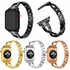 LUXURY CRYSTAL RHINESTONES BRACELET STRAP BAND FOR APPLE WATCHES 4321 iWATCH