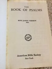 Psalms Book Large Print