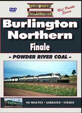 Burlington Northern Finale Powder River Coal DVD NEW BN UP BNSF Orin Sub