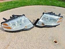 08-09 Ford Taurus X Halogen Headlights w/ Restored Lenses LH & RH Both Sides