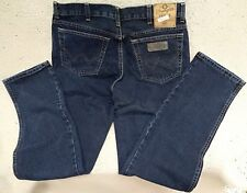 WRANGLER jeans Texas Blue Black Tg.W42/L32 (no stretch)