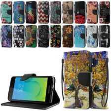 For Samsung Galaxy J2 Core J260/ J2 Pure/J2 Dash Id Card Wallet Stand Cover Case