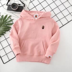 Fashion Kids Boy Girl Pure Baby Milo Monkey Animal Sweatershirt Hoodie