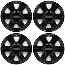 """(4) 2014 GMC TERRAIN 17"""" BLACK WHEEL LINERS SKINS HUBCAPS 7564P - 17"""""""