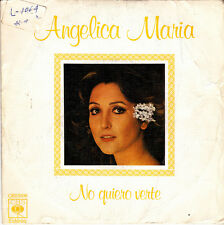 ANGELICA MARIA-NO QUIERO VERTE + EL ARROYITO SINGLE VINILO 1977 SPAIN