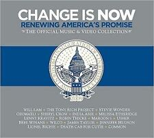 NEW - Change Is Now: Renewing America's Promise [CD/DVD] (Barack Obama)