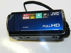 PLEASE READ FIRST - JVC Everio GZ-E100 - BLUE - Camcorder ONLY - Nothing Else