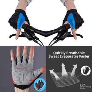 Outdoor Short Finger Summer Cycling Half Finger Shockproof Running for Women Men