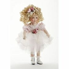 "New Delton Porcelain Doll Roxanne Toy Figure, 16"""