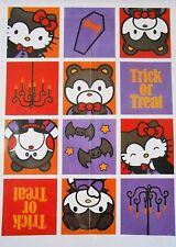 "HELLO KITTY Sanrio House Flag  28x40"" Trick or Treat Dracula Vampire Halloween"