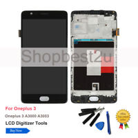 LCD Display Screen Touch Digitizer Frame Replace For Oneplus 3 A3000 A3003 Frame