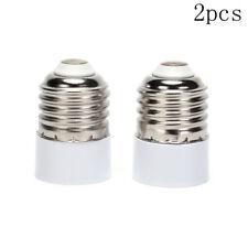2pcs E27 to E14 LED light base lamp bulbs adapter socket converter base holderTS