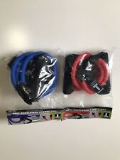 Body Solid Tools BSTRT4 1Blue Heavy Resistance Tube.1 Red Medium Resistance.new