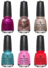 China Glaze Nail Polish Desert Escape Collection 6 pc Summer 2015 !