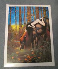 Autumn Wolgang Grassee 1981 Wall POSTER 19x25 Unicorn
